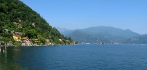 Lago Maggiore, aufgenommen von Cannero (© Redaktion - Portanapoli.com)