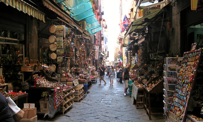 Via San Gregorio Armeno (© Redaktion - Portanapoli.com)