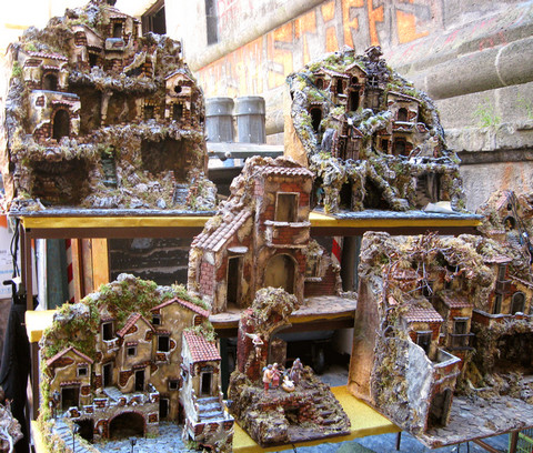 Krippen Napoli (© Redaktion - Portanapoli.com)