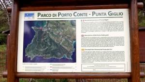 Der Parco di Porto Conte ist gut beschildert (© Redaktion - Portanapoli.com)