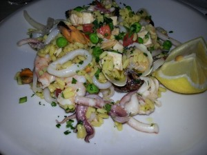 Paella-Salat (© Redaktion Portanapoli.com)