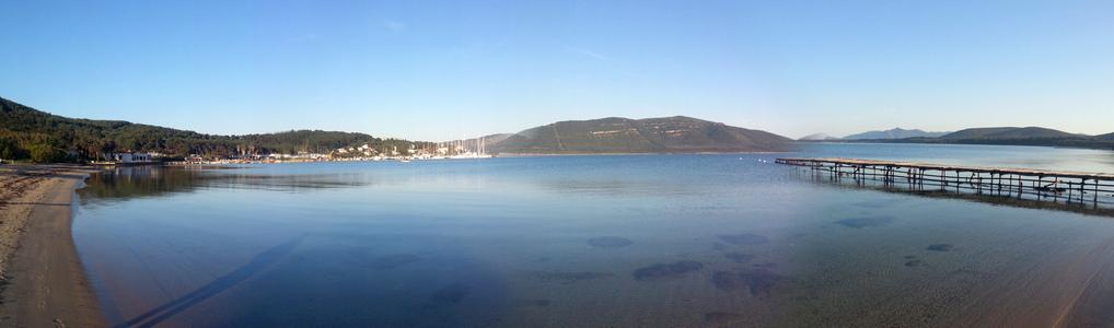 Panorama der Bucht Portoconte (© Redaktion - Portanapoli.com)
