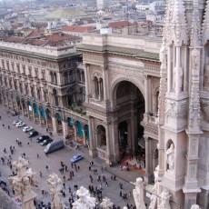 Mailand: Dem Dom aufs Dach gestiegen