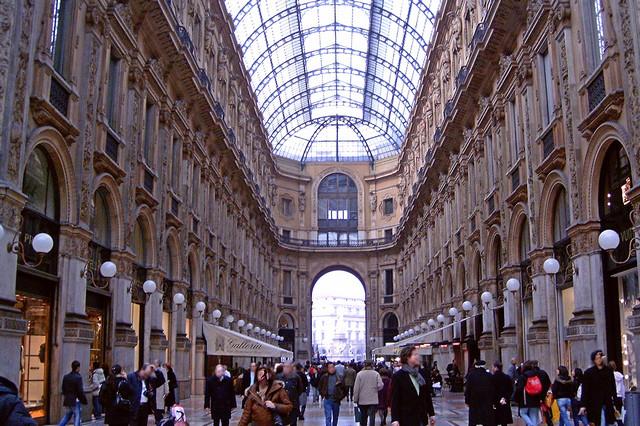 Galleria Vittorio Emanuele II in Mailand (© Redaktion - Portanapoli.com)