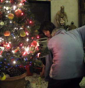 Wir legen die Geschenke unter den Baum (© Redaktion - Portanapoli.com)