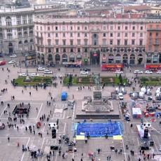 Internationale Weltausstellung Expo 2015 in Mailand