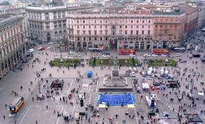 Platz am Dom in Mailand (© Redaktion - Portanapoli.com)