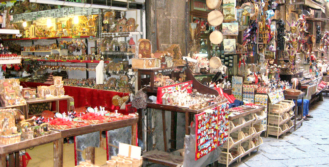 Ein Highlight: die Krippenstraße Via San Gregorio Armeno! (© Redaktion Portanapoli.com)