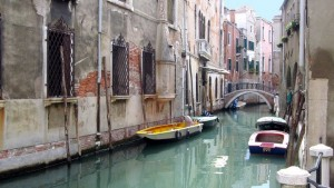 Malerischer Kanal in Venedig
