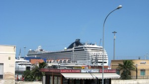 Es geht zurück zum Schiff. Die nächste Etappe wird Istanbul sein.