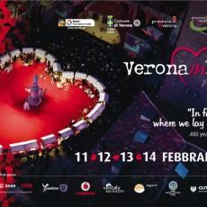 Verona in love 2016: Festival am Valentinstag