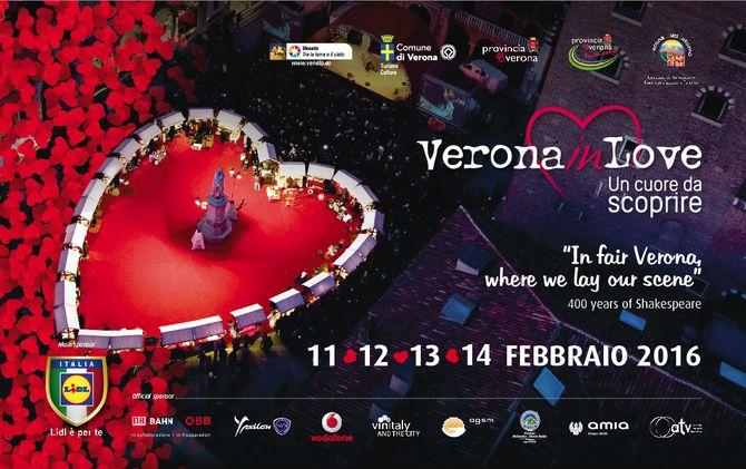 Verona in love 2016. Foto: © Ph. F. Dall'Aglio. Archivio Foto Provincia di Verona Turismo. www.tourism.verona.it