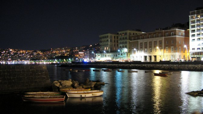 Napoli by night - Promenade
