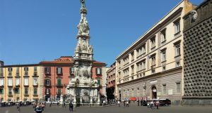 Obelisk an Piazza Gesù Nuovo
