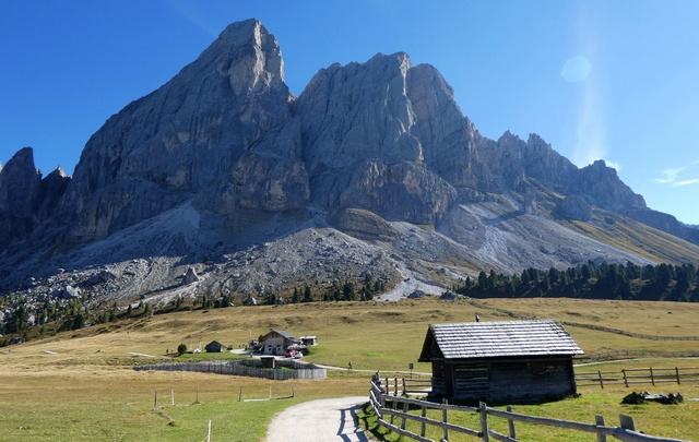 """Wanderung auf dem Würzjoch, """"Passo delle Erbe"""""""