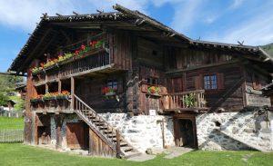 """Das """"Haus des Trattmann"""" war noch bis Ende des letzten Jahrhunderts bewohnt"""