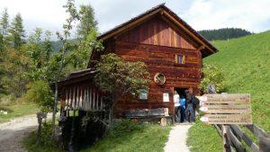 Die erste Mühle kann innen besichtigt werden