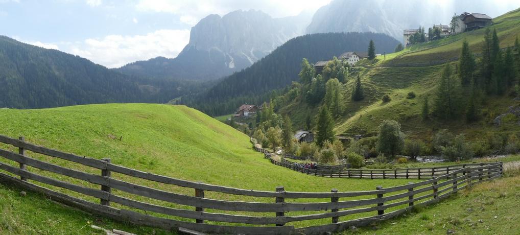 Südtirol: Romantisches Mühlental in Lungiarü
