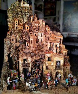 Weihnachtskrippe aus Neapel, erbaut vom Künstler Luigi Buommino (© Redaktion Portanapoli)