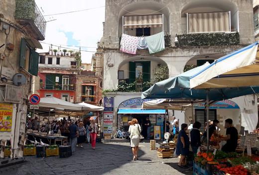 Markt auf dem Vomero in Neapel