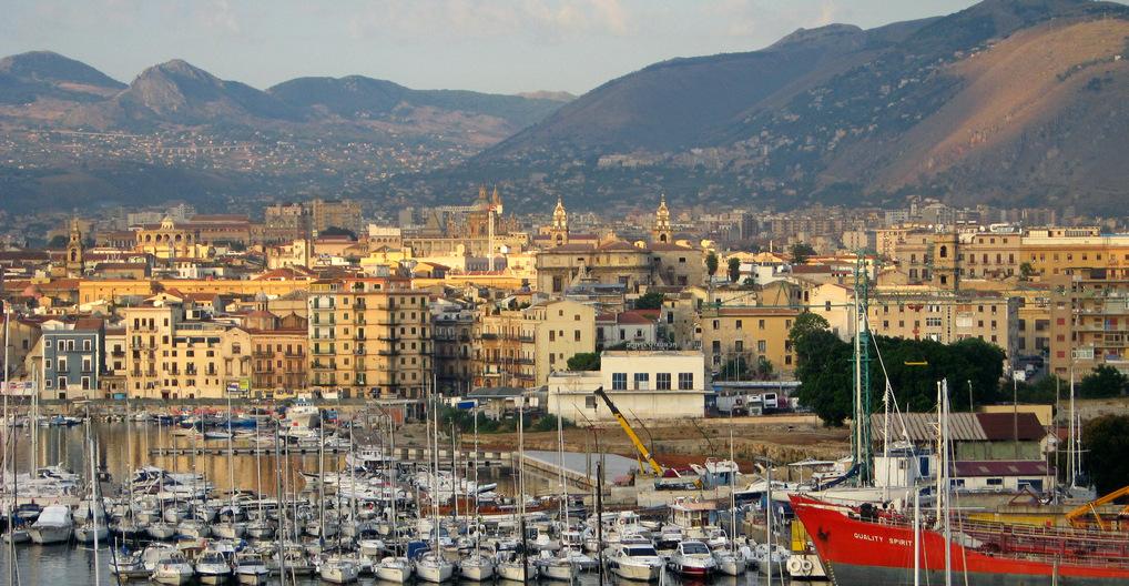 Palermo bei Sonnenaufgang