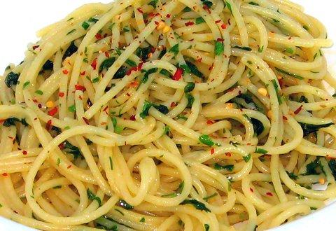 Köstlich und vegan: Spaghetti aglio e olio