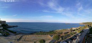 Herrlicher Blick von unserem Balkon