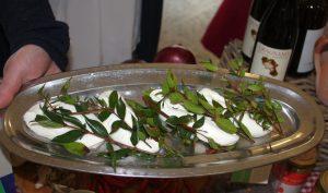 Kuh-Mozzarella mit Myrthe