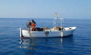 Fischer vor der Küste