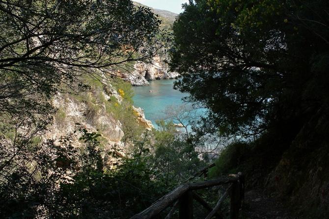 Blick vom Küstenweg