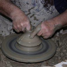 Bearbeitung von Terracotta