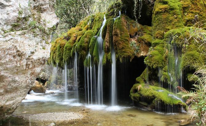 Der Wasserfall Capelli di Venere