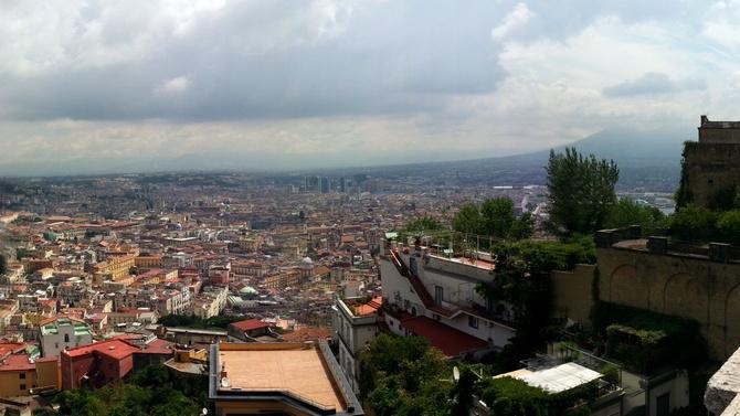 Neapel, gesehen von San Martino