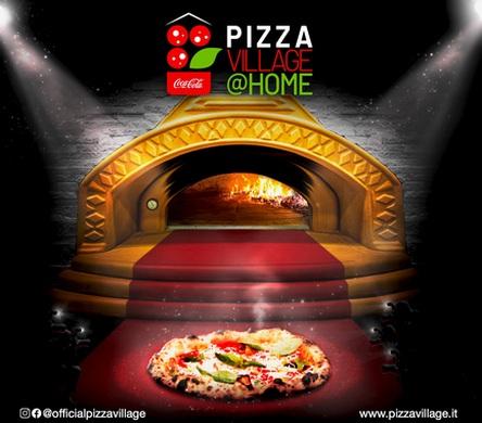 """Coca-Cola PizzaVillage@Home"" – Pizza feiern mal ganz anders"